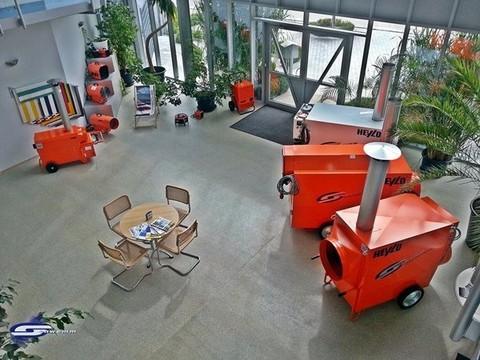 Showroom Schwemm, Bauheizung Verkauf, Schwabmünchen Raumtrockner